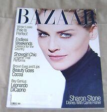 US HARPER'S BAZAAR/ November 1995/ Sharon Stone/ Milla Jovovich/ Christina Kruse