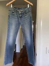 Levis Demi Curve Jeans. Straight leg. Mid Waist Size 28in or size 8.
