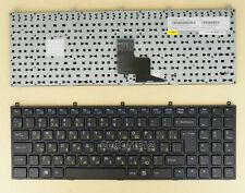 For Clevo W251NHQ-C W253EUQ W255EU W255HOQ-C W255HP Keyboard Frame Russian RU