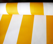 Outdoor waterproof fabric AWNING FABRIC 160cm Stripes UV Resistant Boats  Garden