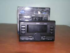Pyle PLRRR18U Auto In Dash AM/FM MPX Receiver w MP3 Playback & USB/Aux Input