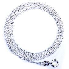 """HOLIDAY SPECIAL! SOLID .925 STERLING SILVER Fancy Designer Rolo Link Chain  18"""""""