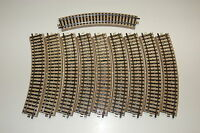 Märklin H0 - 10 x 5100 Normalkreis - M-Gleis - TOP Zustand
