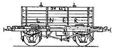 Parkside Dundas PC35 - LNER 'Conflat S' Container Wagon Kit              (00)
