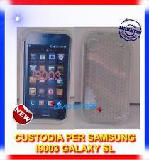 Pellicola+Custodia EXA CLEAR per Samsung I9003 Galaxy SL