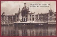 TORINO CITTÀ 319 ESPOSIZIONE 1911 PADIGLIONE dell'AMERICA LATINA Cartolina FOTOG