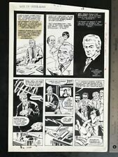 WEB OF SPIDER-MAN #27 1987 DAVE SIMONS ORIGINAL ART