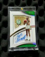 Bill Russell autograph Immaculate Collection auto #d/25 Shadowbox Mint Condition