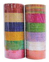 Bangles Indian Box Bollywood Set Multi Color Fashion Designer Wedding Bangles