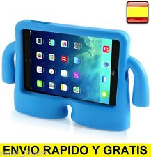 FUNDA IPAD MINI 1 / 2 / 3 / 4, IDEAL PARA NIÑOS DE GOMA MODELO iBuy ANTI CAÍDAS