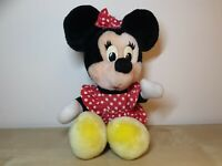 Minnie Mouse Vintage 80s Disney Plush 14""