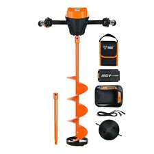 "SAVE 50%! (MSRP $599.99) Trophy Strike 120V Lithium Ion 8"" Ice Auger Kit"