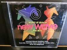 World of Dance: The 80's (NM SCARCE 1996 Rebound CD) Electro/House Compilation