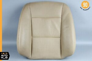 10-13 Mercedes W221 S400 S550 Front Right Top Upper Seat Cushion Beige OEM