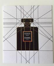 1 Très Jolie Carte Parfumée Coco Noir De Chanel