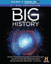 Big History Complete Series Blu-ray Set Digital HD TV Show Collection Episode Lo