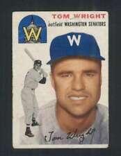 1954 Topps #140 Tom Wright VG/VGEX Senators 96601