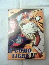 L' UOMO TIGRE Numero 04 Yamato Video DVD Film Collezione