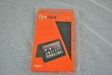 Amazon Fire HD8 Tablet Case / Cover  for 7th Generation -Charcoal Black