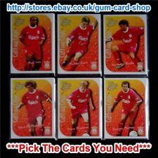 Cromos de fútbol de coleccionismo Liverpool Premier League