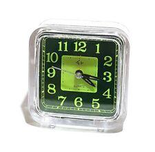 Moderner Analog Wecker Reisewecker Uhr Clock LED Licht Leuchtet Quarz Uhrwerk