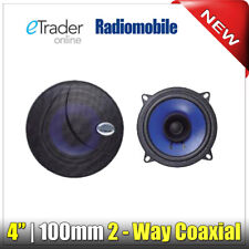 "4"" Speakers 40W 4 Inch 10cm Car Van Door Shelf Speaker Pair Cheap Dual Cone"
