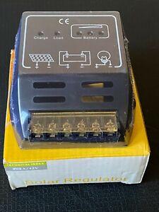 Solar Regulator  - 10 Amp - 12 Volt - Solar Controller - Suunny CMP1210