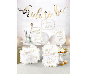 Bridal Shower Decorations Signs Bride To Be Hens Night Party Lolly Buffet