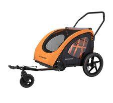 Schwinn Springbrook Two-passenger Bike trailer/stroller (orange)