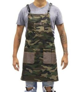 Hairart Barber Apron - Camouflage Denim Unisex Apron for Barber Or Stylist NIP!