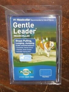 Gentle Leader Headcollar ~SMALL Up To 25lbs~ Color: Royal Blue