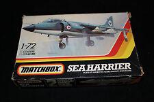 MATCHBOX SEA HARRIER JET FIGHTER MODEL KIT. in scala 1/72