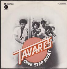"""7"""" Tavares One Step Away / Out Of The Picture 70`s EMI Capitol"""