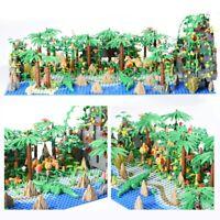 Lego Mega Bloks COMPATIBIL100% PIRATI ☆ MOC ISOLA DEI PIRATI FORESTA ☆ BULKBOX