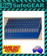 BLUE WrapStrap (20pk) 75mm Tags Height Safety Rigging Inspection Tags