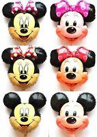 NEU XL Helium Folienballons Micky Minnie Maus Geburtstags Geschenk Disney Party
