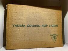 Yakima Golden Hop Farms Book, 1960