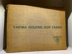 Yakima Golden Hop Farms Book, 1960