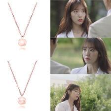 AGATHA PARIS Coco Rose Silver 925 Necklace kdrama Doctors Park ShinHye Pink Gold