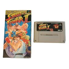 Street Fighter II 2 Nintendo Super Famicom SFC NTSC-J CAPCOM Japan US SELLER