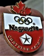 1998 NAGANO CHRYSLER CANADA SPONSOR Lapel Pin