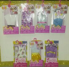 """BARBIE 7-Pc Lot """"FASHION / Life In The Dreamhouse Singles"""" NEW, NICE, FREE SHIP!"""
