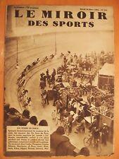 Miroir des Sports 755- 20/3/1934-6 Jours de Paris-Pecqueux-C.Pélissier-Boucheron