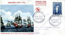 FRANCE FDC - 259 1167 3 JEAN BART DUNKERQUE 7 6 1958
