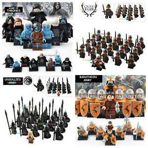 21pcs Gondorian Army Frodo Lord of The Rings Figure Lego Military Minifigure