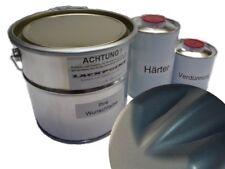5 litros Kit 2k Pintura Verde Oscuro Metálico Mate ninguna Laca Transparente