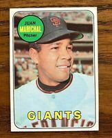 1969 Topps #370, Juan Marichal - Giants