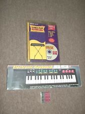 first act learn to play keyboard with New mini electronic keyboard + batteries