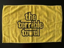 Vintage Rare Pittsburgh Steelers The Terrible Towel NFL