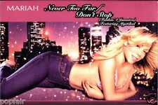 MARIAH CAREY - NEVER TOO FAR / DON'T STOP (FUNKIN' 4 JAMAICA) 2001 CASSINGLE